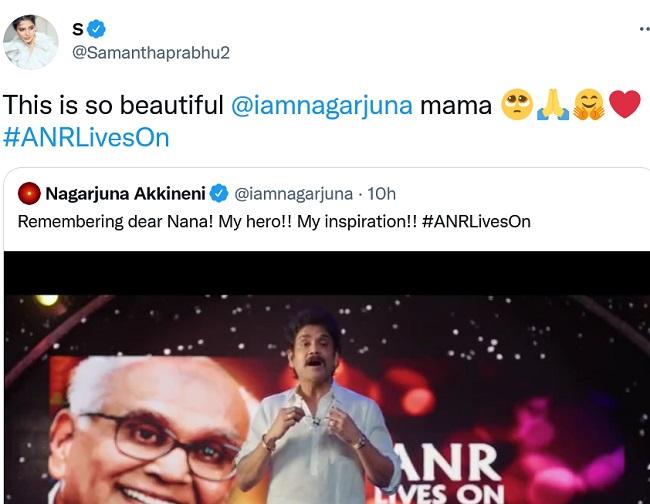 Akkineni fans shocked again By Samantha