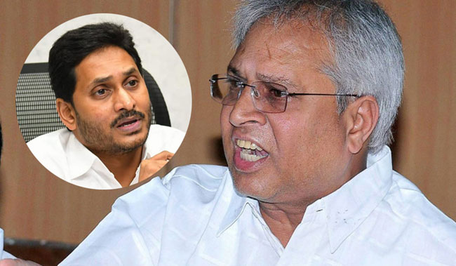 All the sand money is going to Jagan