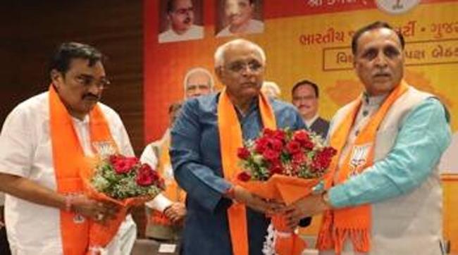 BJP's strategy In Gujarath