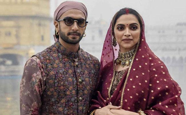 Bollywood Star Couples Ranveer Singh and Deepika Padukone