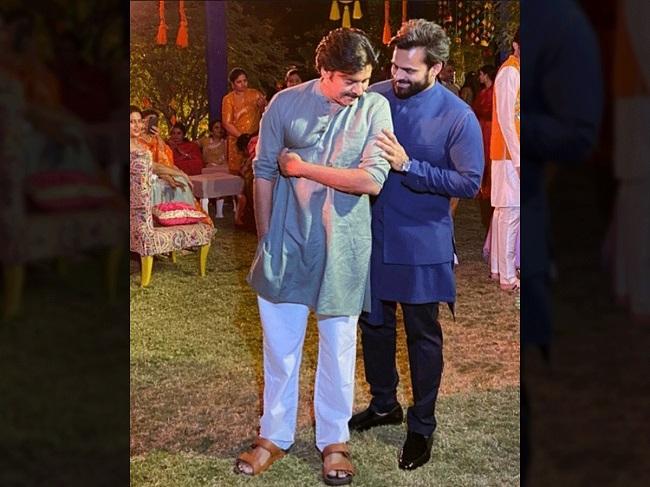 Bonding Between Pawankalyan And Sai Dharamtej