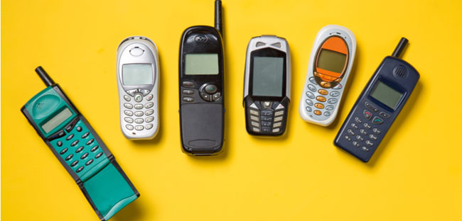 Demand for old phones in China