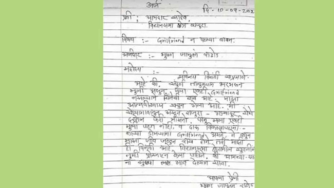 Get Me A Girlfriend Youth Sends A Request To MLA