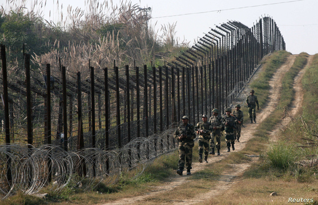 India getting ready on the borders