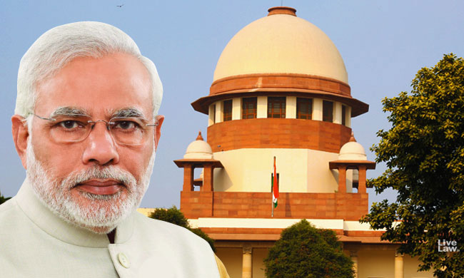 Modi government does not count the Supreme Court