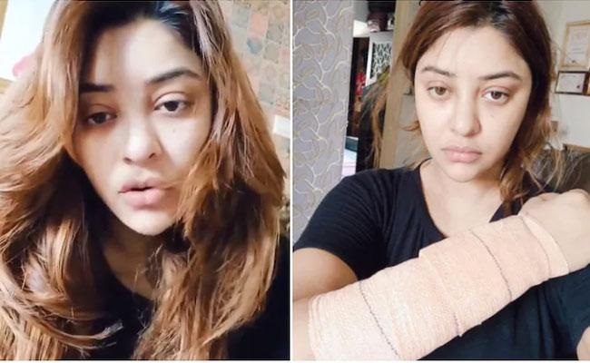 Payal Ghosh alleges attack by masked men develops injuries