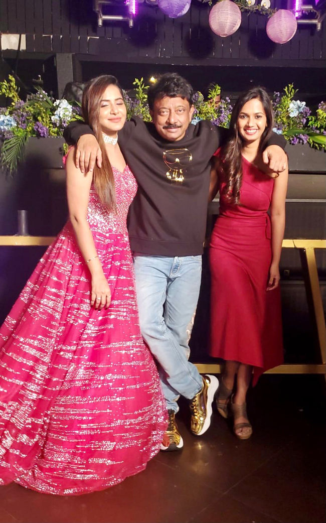 RGV With His Bold Girls