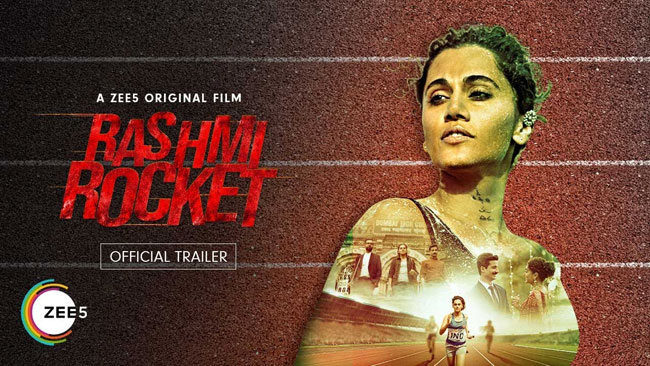 Tapsee New Movie Rashmi Rocket Trailer
