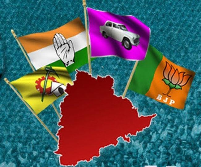 The scene in politics in Telangana