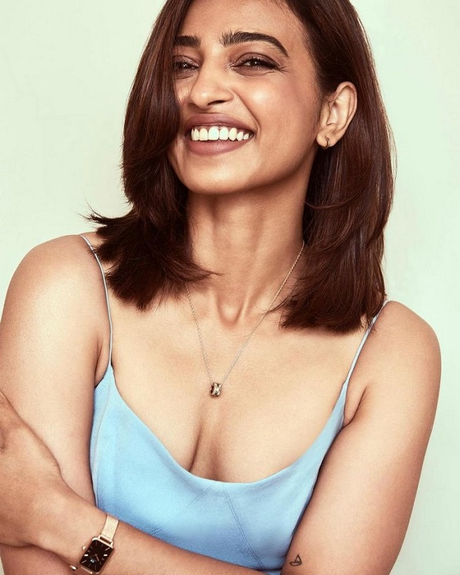 Radhika Apte is busy with brands movies series