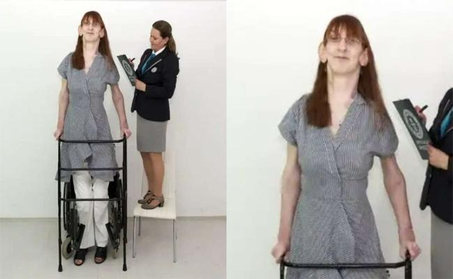 The tallest woman in the world
